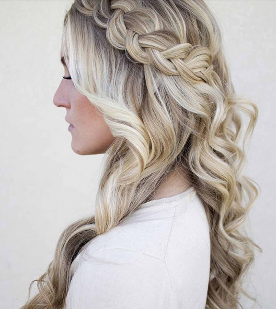 Easy Hairstyles For Wedding Reception : Screenshot
